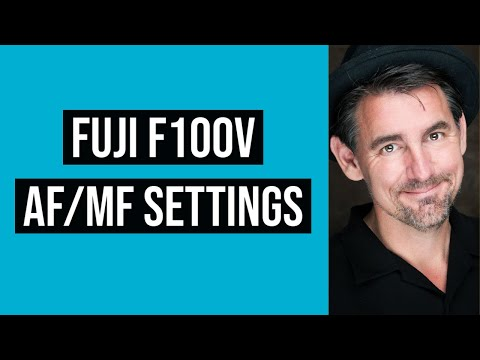 Fiji X100V AF/MF Settings Menus EXPLAINED