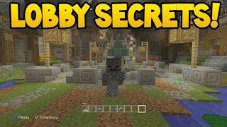 NEW LOBBY SECRETS in Minecraft Console Edition! (TU51 Update)
