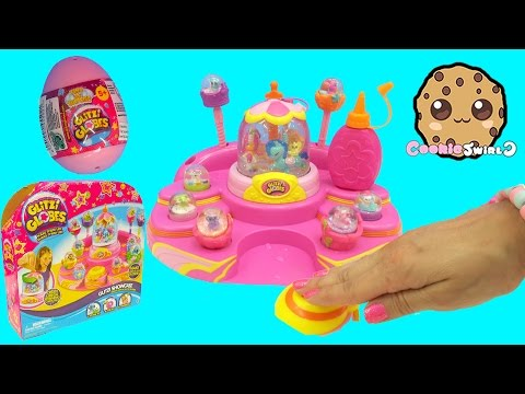 Glitzi Showcase Carousel Glitzi Globe Maker + Surprise Egg Unboxing - Cookieswirlc Video
