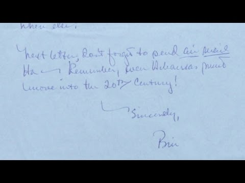 Appraisal: Bill Clinton's 1968 Letter Home from Oxford