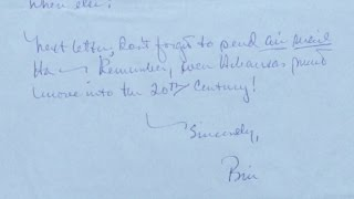 Appraisal: Bill Clinton s 1968 Letter Home from Oxford