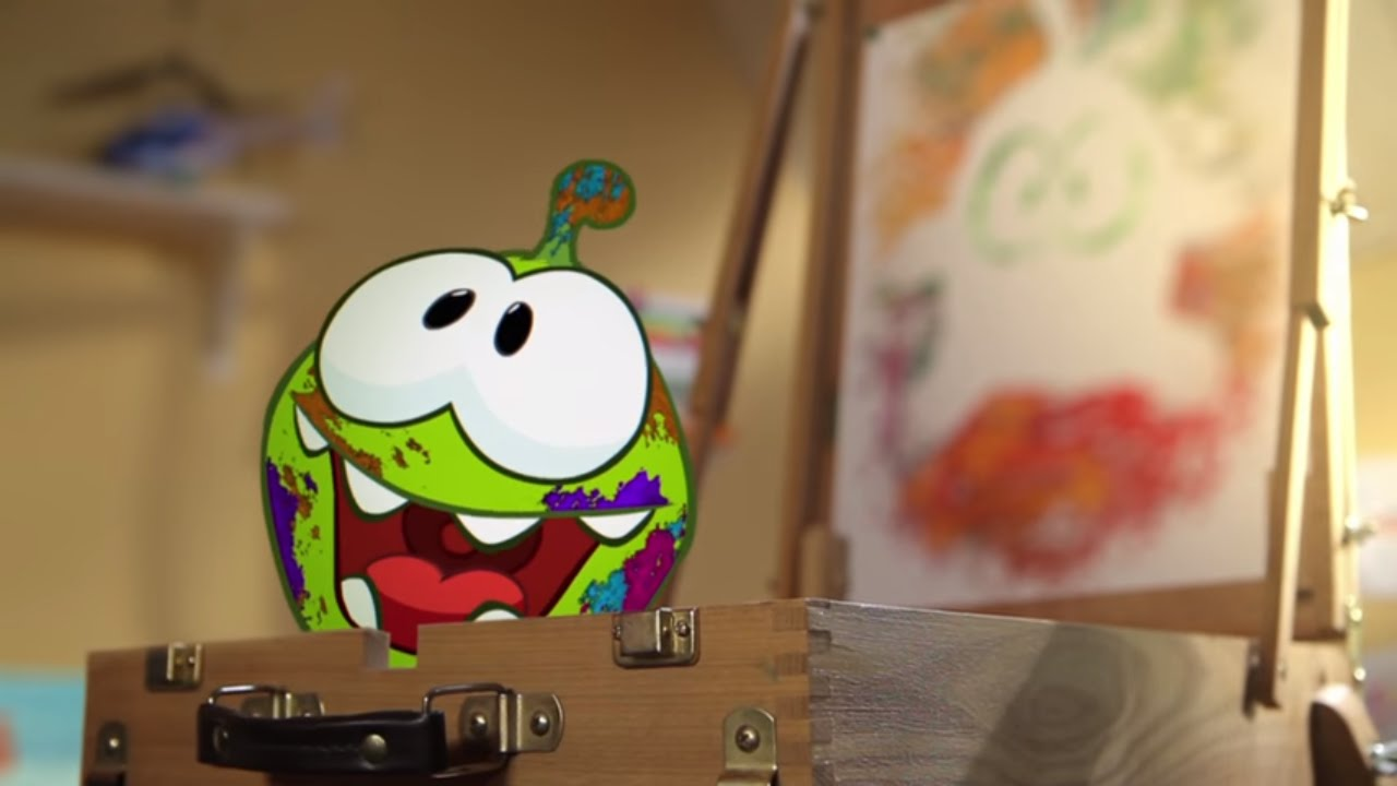 Om Nom Stories (Cut the Rope) - Arts and Crafts (Episode 7, Cut the Rope)