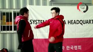 Боец системы DK Yoo Systema Demonstration Systema Korea Training Highlight