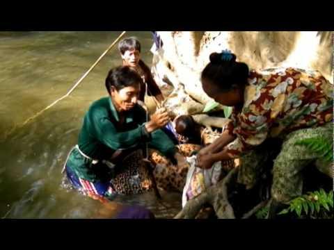 lahu gna ca ve - การหาปลาของคนลาหู่-AKAPE LAHU