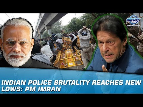 Indian police brutality reaches new lows: PM Imran   Indus News