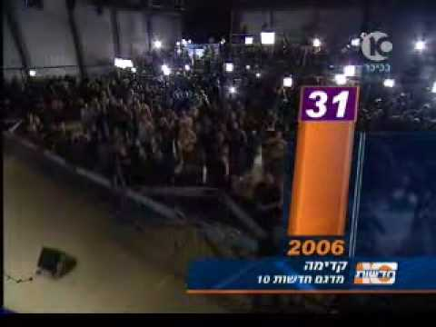 Israeli Elections - the results - Channel 10