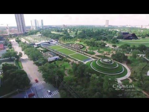McGovern Centennial Gardens - Houston, Texas, United States - Crystal Fountains