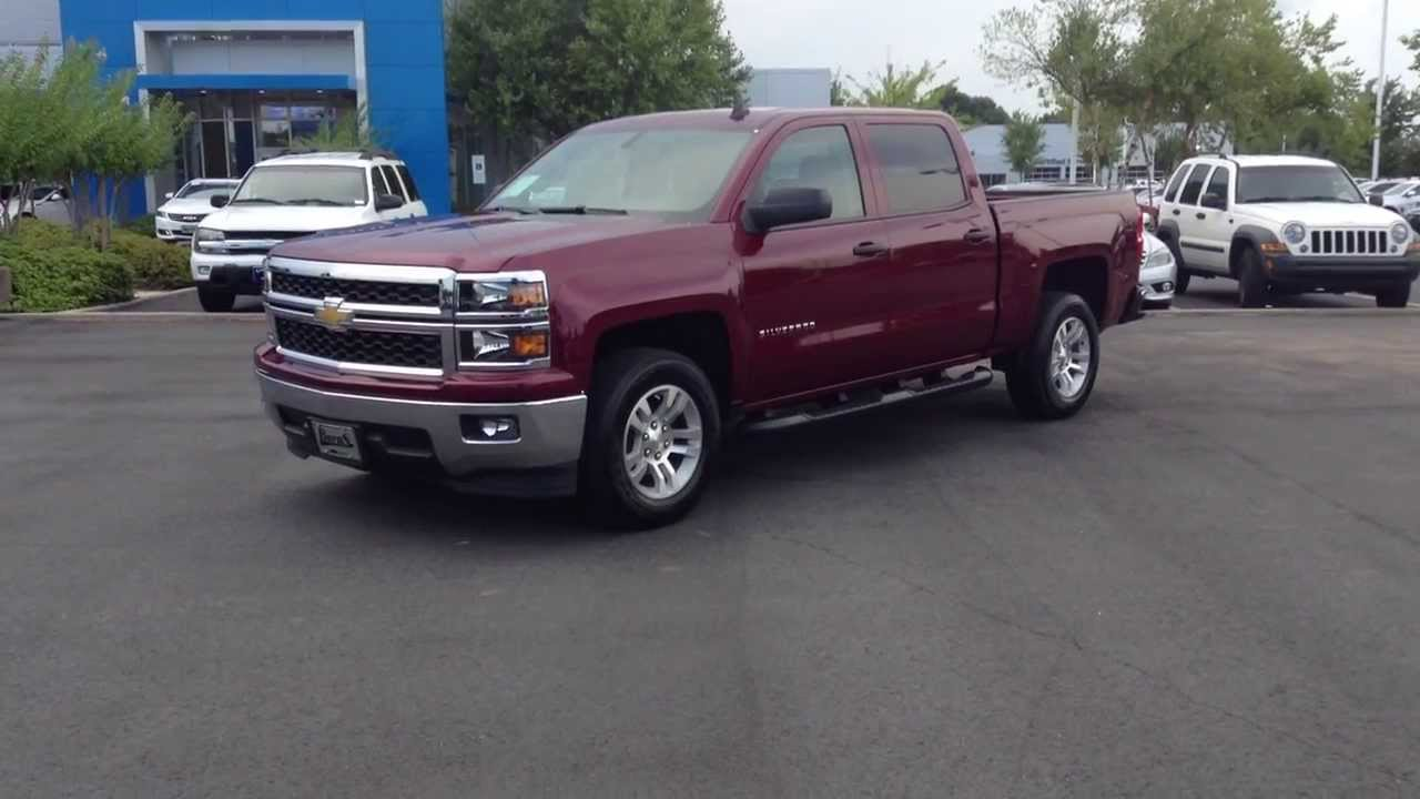 2014 Chevrolet Silverado Crew Cab 1LT Ruby Red, Burns ...