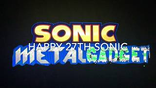 Let's Think Of Sonic Metal Gadget Part 2: Stages(Sonic's 27th Anniversary Video)
