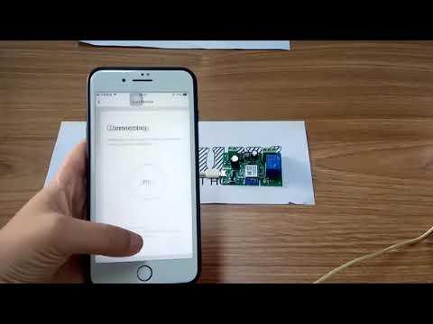 EACHEN WiFi Inching Relay Momentary Switch Module ST-DC1 (Tuya SmartLife  APP)