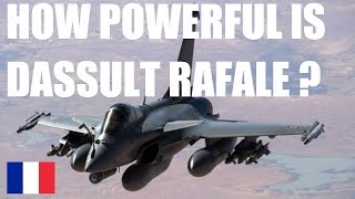 HOW POWERFUL IS DASSAULT RAFALE ? | JET FIGHTER SPECIFICATION