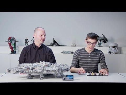 LEGO designer video: 75192 Millennium Falcon