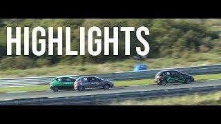Highlights DNRT Peugeot 206 GTi Cup - Racedag 6 Zandvoort