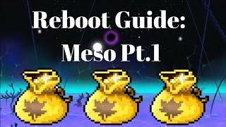 [MapleStory] Reboot Guide Part 1: Farming Mesos