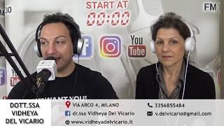 Dr.ssa Vidheya Del Vicario - Intervista LifeSocial - RadioLombardia 2019