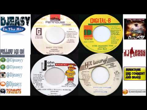 General Riddim Mix  1983 -1992  (Hitbound ,Jammys, Penthouse ,Steely & Cleevie) mix by djeasy