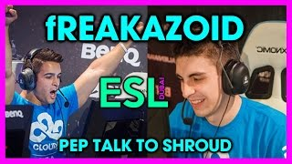 fREAKAZOID: Motivational Speech to shroud [Color SubZ]