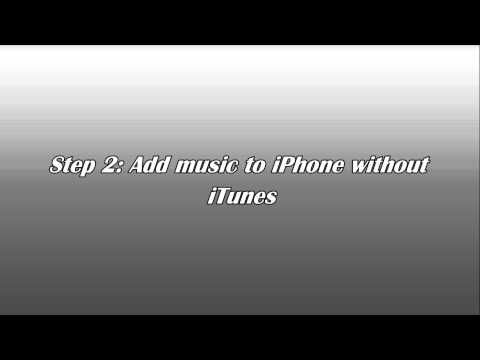 How To Put Music On IPhone Without ITunes