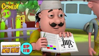 Mehnat Ki Kamayee - Motu Patlu in Hindi - 3D Animated cartoon series for kids - As on Nickelodeon