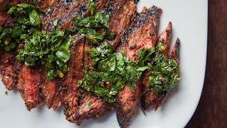 Best Skirt Steak with Chimichurri Recipe  High Protein Steak Dish