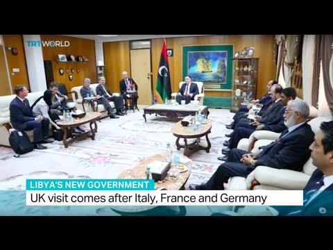 UK Foreign Secretary Hammond visits Tripoli, Simon McGregor Wood reports