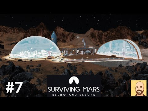 Below and Beyond (Full Release) - Hardest Map - Surviving Mars - Ep 7 |