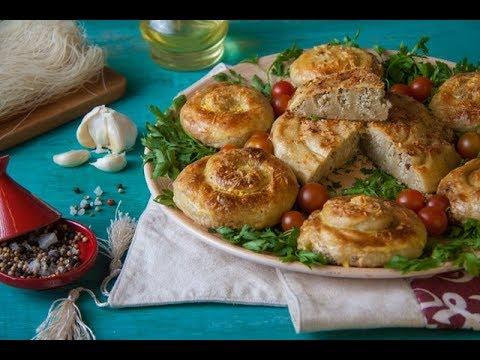 لعشاق الطعام المغربي محنشة بكفتة الدجاج على طريقة الشيف سعاد البوعمري
