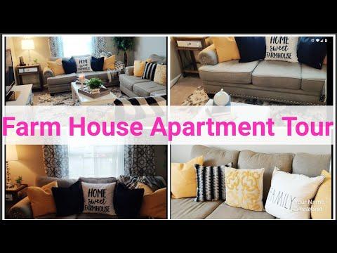 Farm House Style Apartment Tour || Reveal || Interior Decorating