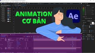 [Hướng dẫn] Bài 5: Tạo Animation cơ bản trong After Effect CC 2015
