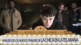 LA CHICA DE LA TELARAÑA lanza dos nuevos trailers - VIVO DE CINE
