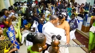 Congolese Wedding DENZOU KAWAKANA AND YUNU ALPHONSINE FROM KINSHASA