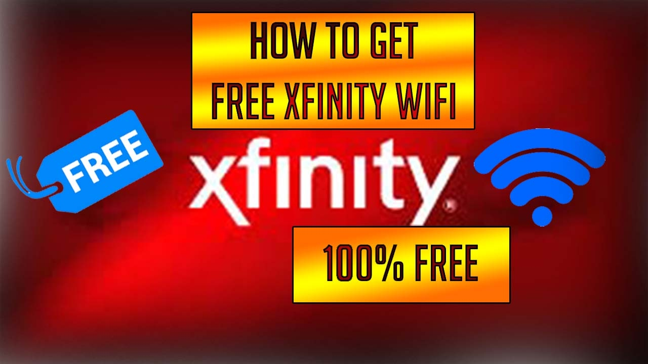 How to get free unlimited trials on xfinity wifi