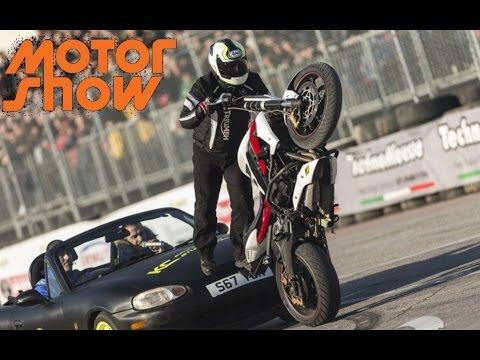 Kevin Carmichael, Amazing Stuntman Show! - Motor Show Bologna 2016
