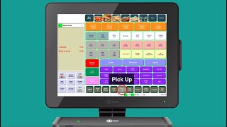 See how an online order is placed through ubereats, injected directly into the ncr aloha pos and sent to kitchen printers using itsacheckmate integra...