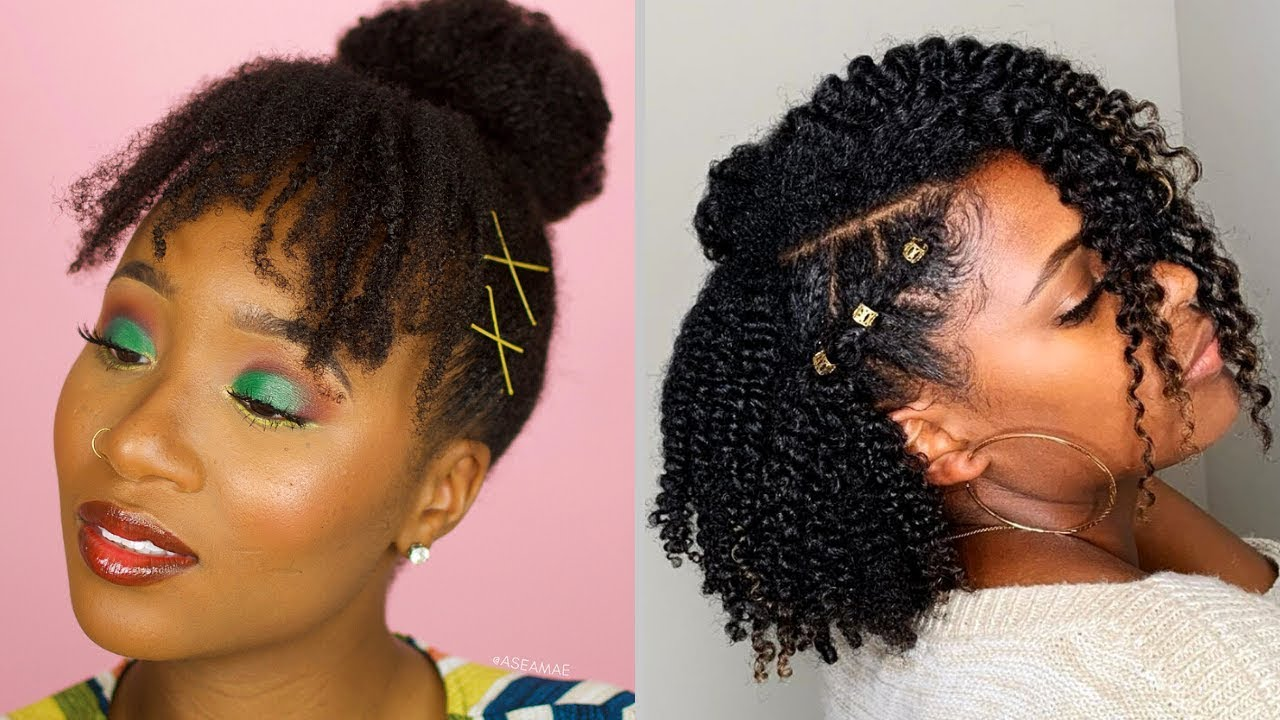 Natural Hairstyles For Black Women 2020 Hairstyles Youtube