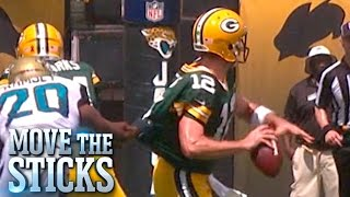 Top 3 Throws From Week 1 | Move the Sticks | NFL