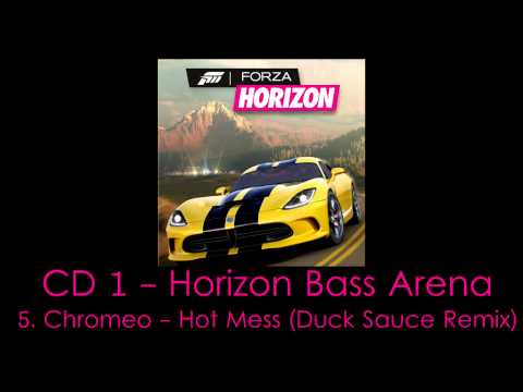 Chromeo  Hot Mess Duck Sauce Remix  Froza HORIZON  Soundtrack HQ
