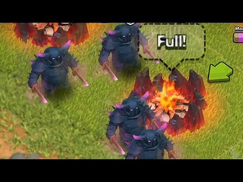 Clash of clans - Pekka level 5 upgrade (w/ gameplay)