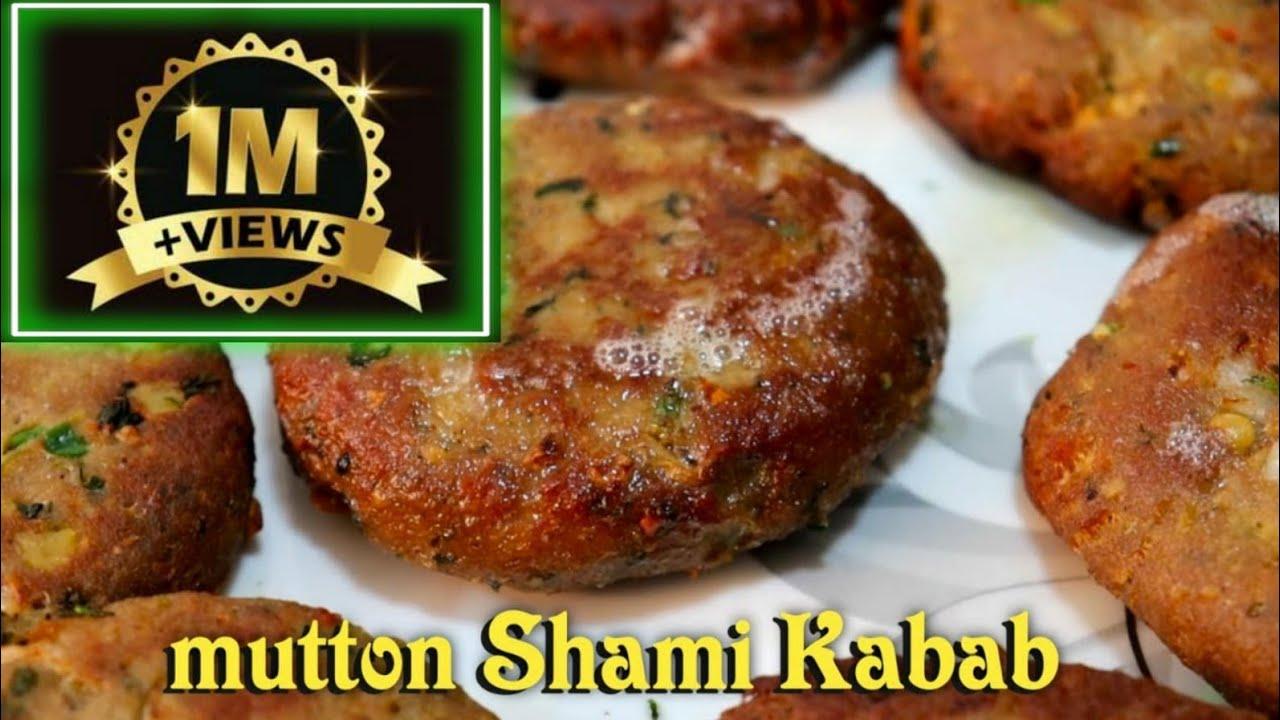 Shami Kabab   Mutton Shami Kabab Recipe   How To Make Shami Kabab At Home   Street Food Zaika