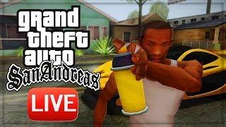 Стрим по Grand Theft Auto: San Andreas[Ностальгия начало 20х] 11 ЧАСТЬ!?
