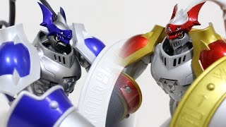 [3/3]Digimon S.H.Figuarts-Original vs Chaos Dukemon/Chaos Gallantmon(カオス デュークモン)-Comparison Review