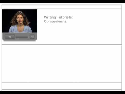 Basic English Essay Skills: Comparison Contrast Essays