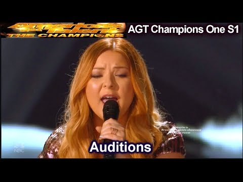 Bianca Ryan sings Say Something AMAZING Audition | America's Got Talent The Champions One AGT