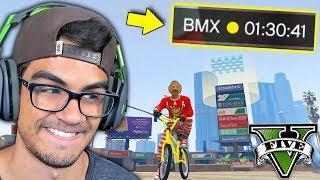 GTA V Online: FIQUEI 1 HORA e 30min no SKILL TEST BRUTAL!!! (RAGE DE BMX)