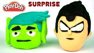 Play-doh Teen Titans Go!, Angry Birds, Spiderman Power Gogo's Surprises