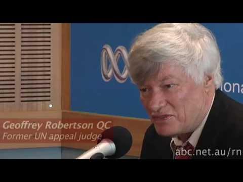 Geoffrey Robertson QC on UK inquiry into the Iraq war