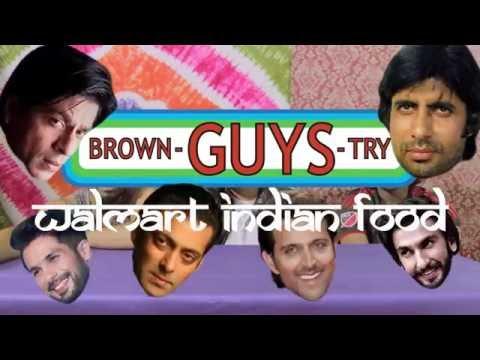 Brown Guys Try Walmart Indian Food