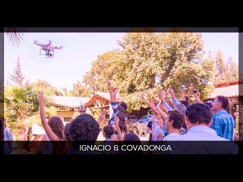 GAS - Ignacio y Covadonga: Drone en Matrimonio, Santiago 2016