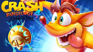 HARDEST LEVEL IN CRASH BANDICOOT 4? - CRASH BANDICOOT 4 IT'S ABOUT TIME (Walkthrough Gameplay)