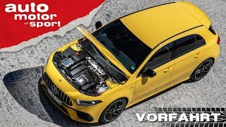 Mercedes-AMG A 45 S & CLA 45 S (2019): 421 PS!! - Vorfahrt (Review) I auto motor und sport